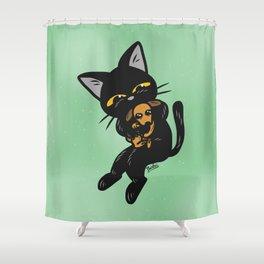 Baby dog Shower Curtain