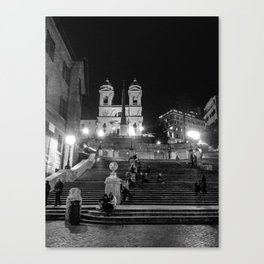 Rome: Spanish Steps Canvas Print