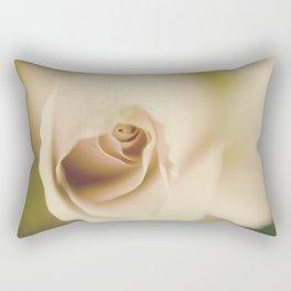 Centre of a pink rose Rectangular Pillow