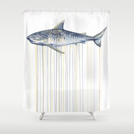Tiger Shark Shower Curtain