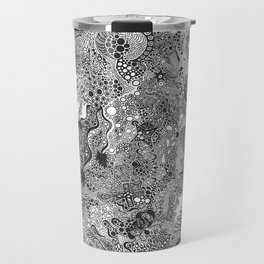 Abstraction #9 Travel Mug