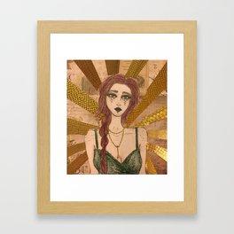 Stargirl Framed Art Print
