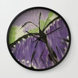 Primitive Butterfly Wall Clock