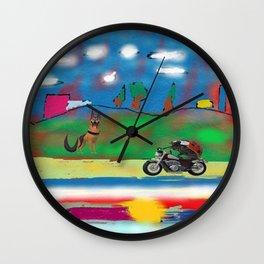 The motorized animals Wall Clock