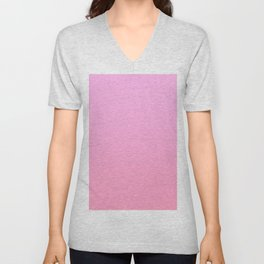 GIRL FLICKS - Minimal Plain Soft Mood Color Blend Prints Unisex V-Neck