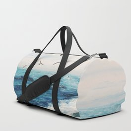 Watercolor Coast Duffle Bag