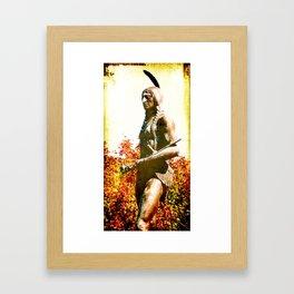 MASSOIT, Native American Statue, Kansas City Framed Art Print