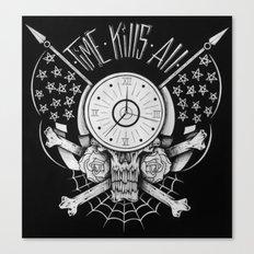 Time Kills All Canvas Print