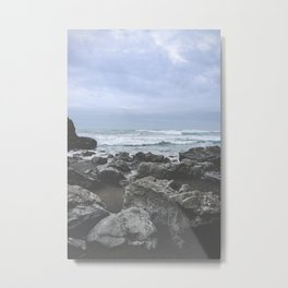Rainy Day in Fort Bragg Metal Print