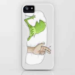 Crazy night iPhone Case
