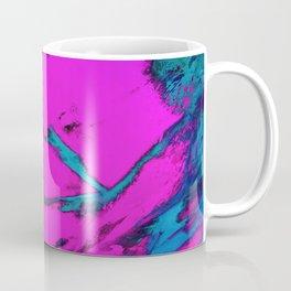 Fractured anger pink Coffee Mug