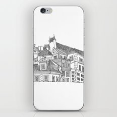 Old Town (Stare Miasto) - Warsaw, Poland iPhone & iPod Skin