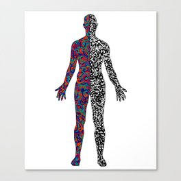 Human Experience Canvas Print