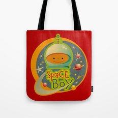 SPACE BOY Tote Bag