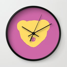 Inner Bear Wall Clock