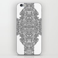 cross iPhone & iPod Skins featuring Cross by Coco Ysabelle
