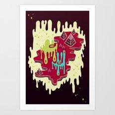 Dimensio A Art Print