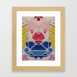 Talking s-it Framed Art Print