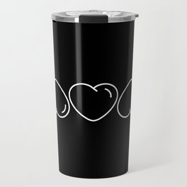 Love mom/mum (black) Travel Mug