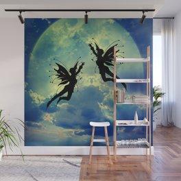 Moon Fairies Wall Mural