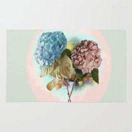 Hydrangeas Rug