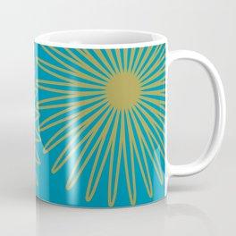 Teal and Copper Coffee Mug