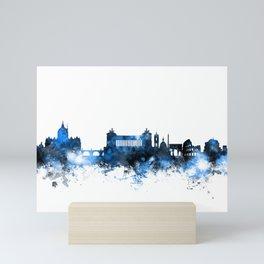 Rome Italy Skyline Mini Art Print