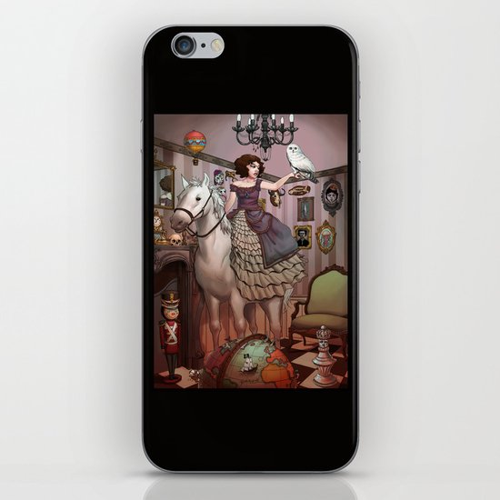 The Victorian Room iPhone & iPod Skin
