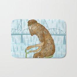Dirty Wet Bigfoot Hipster Bath Mat