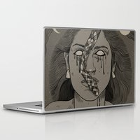 goddess Laptop & iPad Skins featuring Goddess by MOBERG DESIGN