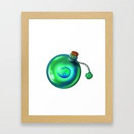 Lucky spirit 1 Framed Art Print