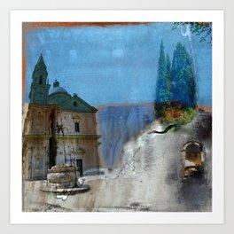 san biagio tuscany Art Print