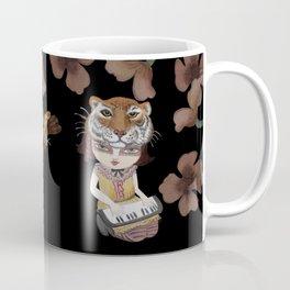 Tiger Mask - modern shamanism art Coffee Mug