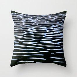 Reflection in Dark Water Throw Pillow