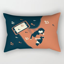 Dance it out Rectangular Pillow