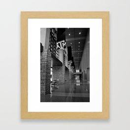 A&M MSC Framed Art Print