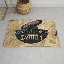 Black Zeppelin Rug