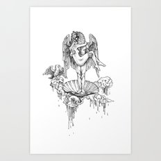 sweet with out the sour Art Print