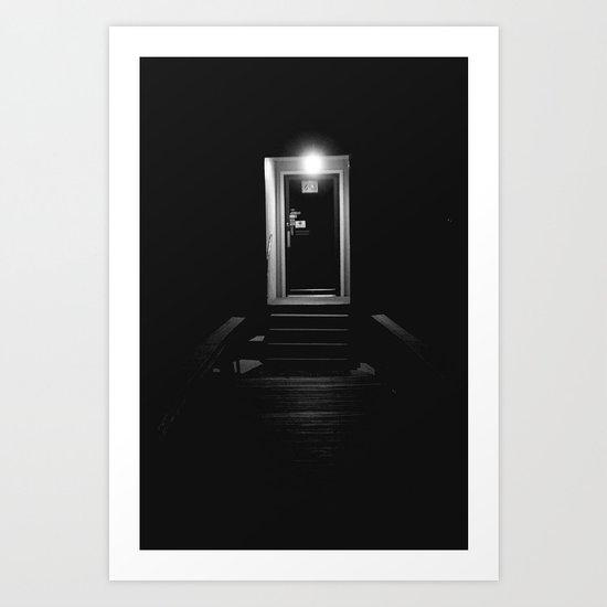 Doorway in the Dark Art Print