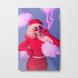 After Laughter Metal Print