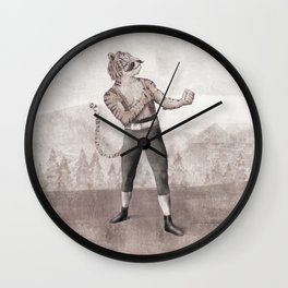 Champ Wall Clock