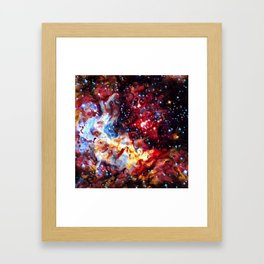 ALTERED Large Magellanic Cloud Framed Art Print