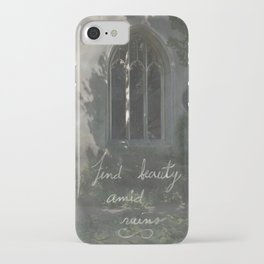 Beauty in Ruins iPhone Case