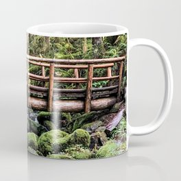 Wanderlust Beauty // Take Me to the Forest Where the Peaceful Waters Flow in the Dense Woods Coffee Mug