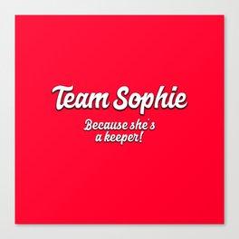 Team Sophie Canvas Print