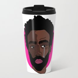 Sad Donald Glover Travel Mug