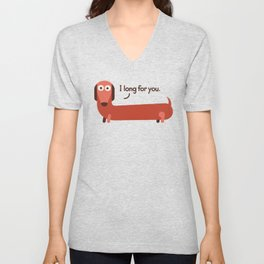 In the Wurst Way Unisex V-Neck