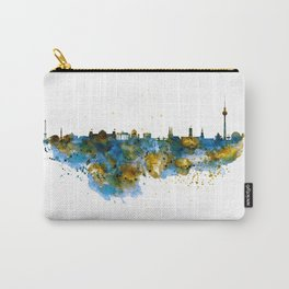 Berlin watercolor skyline Carry-All Pouch