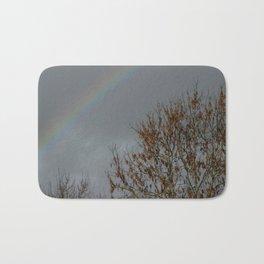 Somewhere over the rainbow Bath Mat