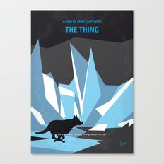 No466 My The Thing minimal movie poster Canvas Print